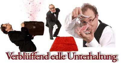 Erlangen - falscher, lustiger Kellner, Spasskellner, Comedykellner – Showkellner – Comedy Kellner