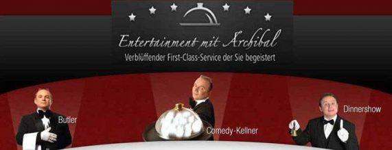 Butler – Comedy-Kellner – Varieteshow